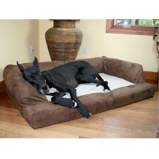 Orthopedic Dog Bed XL Extra Large Washable Pet Sofa Great Dane Huge Jumbo Brown