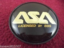 ASA Wheels Black Custom Wheel Center Cap # 83225 (1 CAP)
