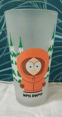 Grand Verre De Collection Publicitaire Quick South Park année 2000
