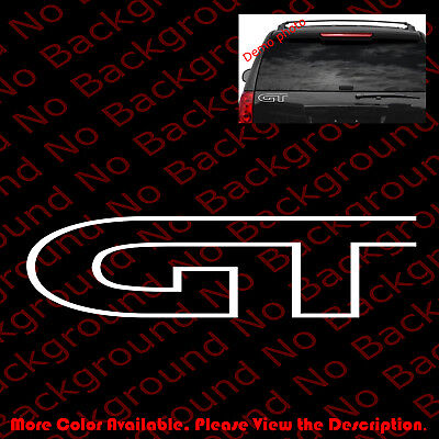 GT Mustang Celica Mazda Ford JDM Vinyl Graphic Car Windows Decal Sticker RC067