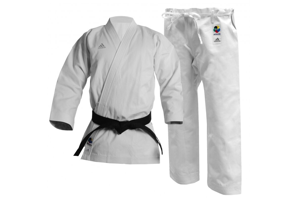 Adidas Elite Karate Suit WKF Approved Gi White  Uniform Japanese   European K380  affordable