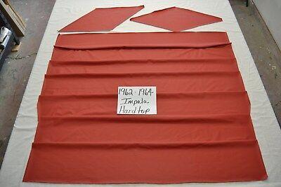 1962 62 1963 63 1964 64 CHEVROLET IMPALA 2 DOOR HARDTOP DARK RED TIER HEADLINER