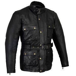 Black-Tab-Vintage-Wax-Leather-Trail-Blazer-Motorcycle-Armoured-Jacket-CE1621-1