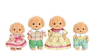 Sylvanian Families Toy Poodle Family Set