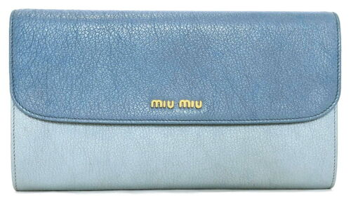 Authentic MiuMiu clutch wallet long wallet organiz