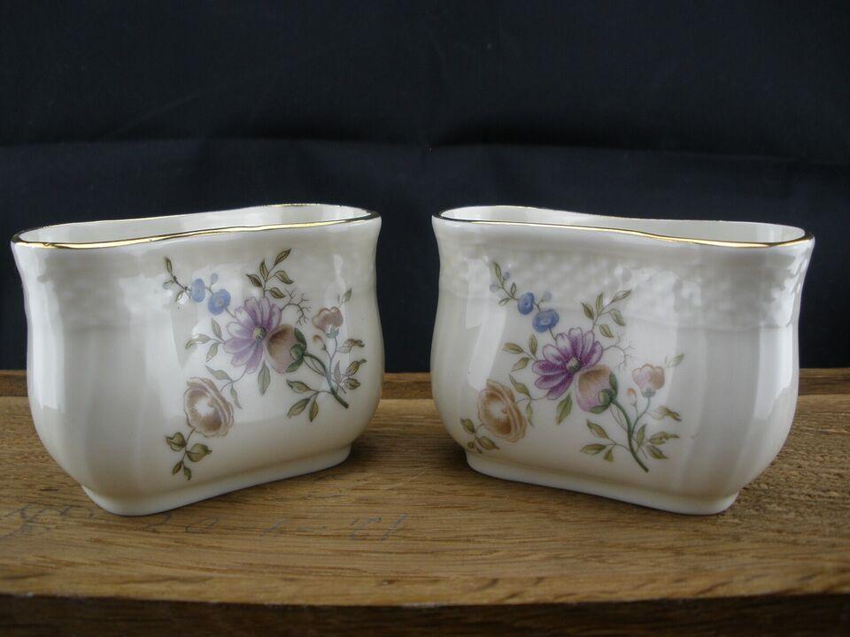 Porcelæn, Frijsenborg Tandstikholder 910/1801, Royal