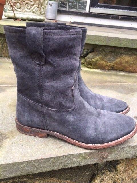 Isabel Marant Etoile tamaño FR 37 37 37 US 7 gris Jenny Gamuza botas al tobillo Botines  ventas en linea
