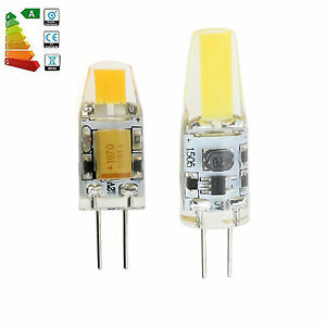 Dimmable G4 LED COB Light 6W 7W 12V Silicone Crystal Lamp Bulb Replace Halogen