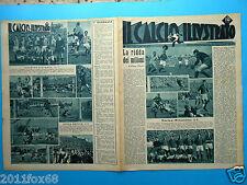 il calcio illustrato 1946 torino triestina juventus atalanta genoa brescia rare