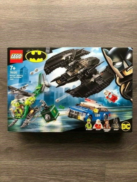 Lego andet, 76120, LEGO Batman - Batwing and The Riddler…