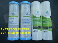 Undersink Water Filter Replacement Cartridge 9 Carbon Sed