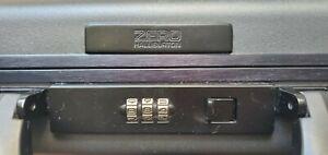"Halliburton Zero Aluminum Dark Grey Briefcase - 18"" x 14"" x 3.5"""