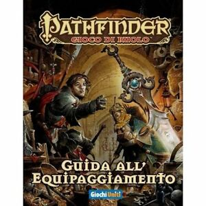 Guide des équipements Pathfinder Manuel Jeu de rôle Unité italienne de jeux
