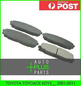 Fits-TOYOTA-TOYOACE-KDY2-2001-2011-Pad-Kit-Disc-Brake-Front