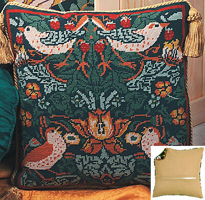 Tapestry Cushion Kit backing optional Twilleys Strawberry Thief 1244//0001