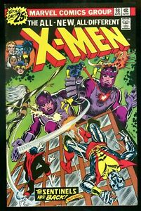 Uncanny-X-Men-98-VF-8-5-Storm-Wolverine-Cyclops-The-Sentinels