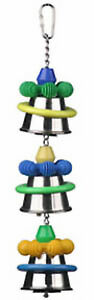 Parrot Toy Pet Bird Toy Brainy Bird Dingaling Large
