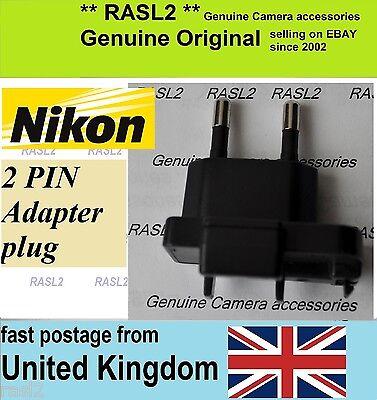 UK 3 Pin Plug Genuine Original Nikon MH-31 quick Charger EN-EL24 Nikon J5
