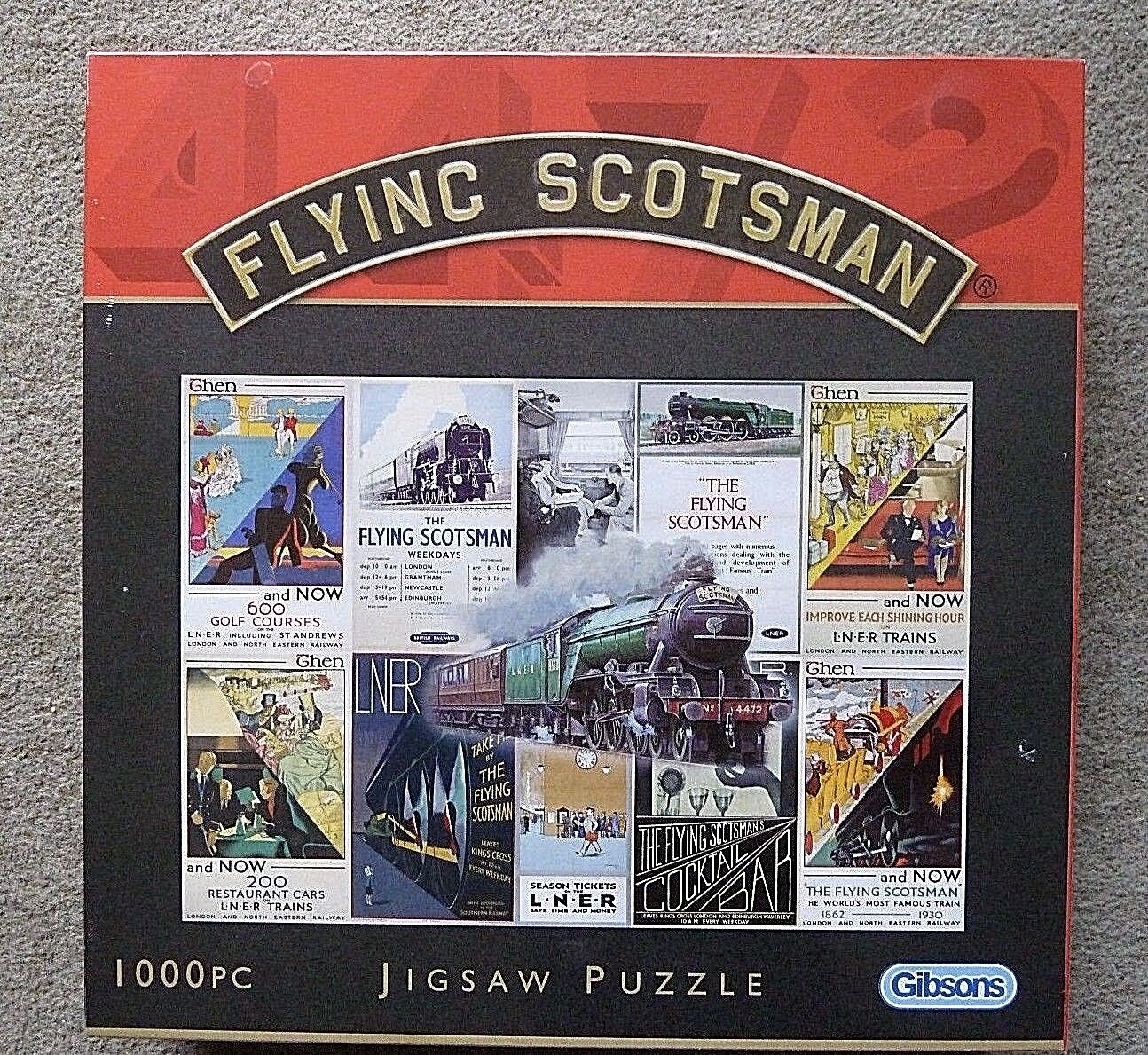 Flying Scotsman Rare de Collection Jigsaw Puzzle 1000 pieces SEALED BRAND NEW