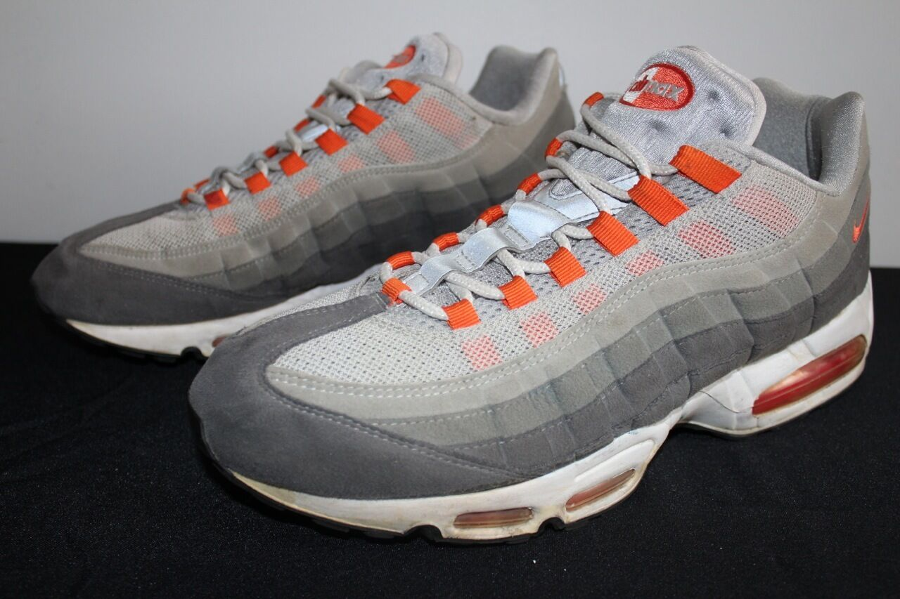 Nike Air Max 95  Gris  Orange Sneakers homme