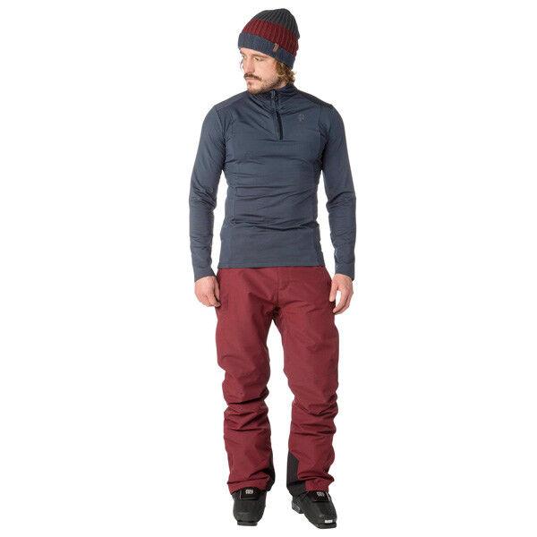 Projoest Oweny Esquí Snowboard Pantalones Snowboard Hombre Denysem Vino  Rojo