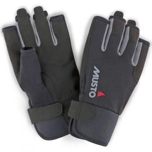 Musto Segelhandschuh Essential Sailing Gloves S//F Schwarz