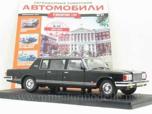 1:24 ZIL 41047 Staatskarosse Hachette #54 DDR Russian Limousine Ovp UdSSR USSR