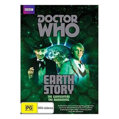 Doctor Who: Earth Story DVD Peter Davison - The Gunfighters & The Awakening