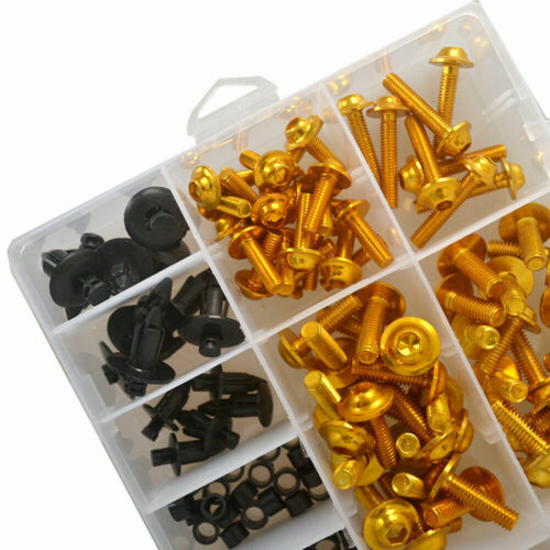 200x Fairing Bolts Kit Fastener Clips Screws Fit For BMW S1000RR HP4 2009-2019