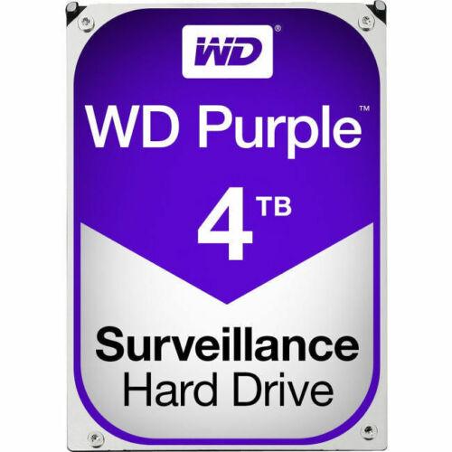 """WD WD40PURZ Purple 4 TB 3.5/"""" 5400 RPM SATA 64 MB Cache Hard Drive"""