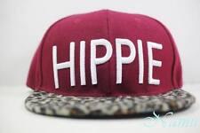 Modern Hippie Cheetah Strapback Hat Obey Pink Dolphin Vintage Leopard Red Cap