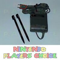 Authentic - Ac Power Adapter Charger For Nintendo Ds Lite + 2 Stylus Pen