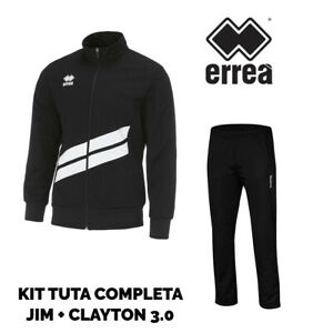 Suit 3 Errea White Clayton 0 Full Broek Black Jack Man Jim 7w5zS