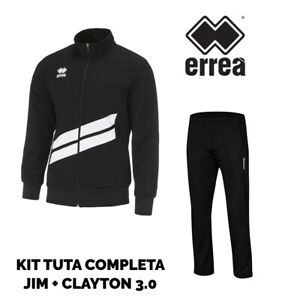 Full 0 Jack Jim Clayton Broek Suit Errea White Black 3 Man Odxqvwg