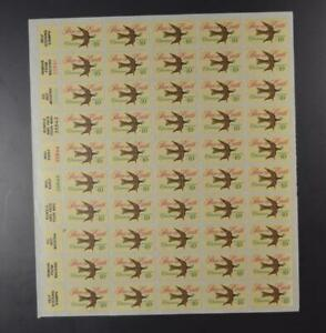 US SCOTT 1552 PANE OF 50 PEACE ON EARTH CHRISTMAS STAMPS 10 CENT FACE MNH