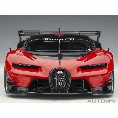 AUTOART 70989 1:18 BUGATTI VISION GRAN TURISMO #16 GIALLO MIDAS//BLACK CARBON