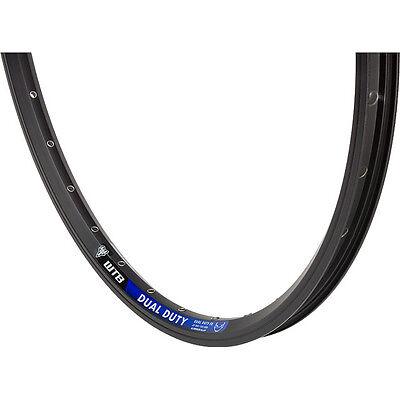 "WTB Dual Duty FR 26"" Mountain Bike Rim 32 Hole Black/Blue"