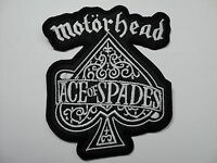 Motorhead Ace Of Spades Shaped Embroidered Patch