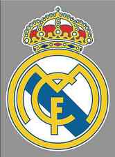"Real madrid FC Logo 6"" Vinyl Decal Bumper Window Sticker - Football Soccer"