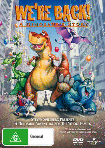 1 of 1 - We're Back! A Dinosaur's Story Were Back  New DVD R4