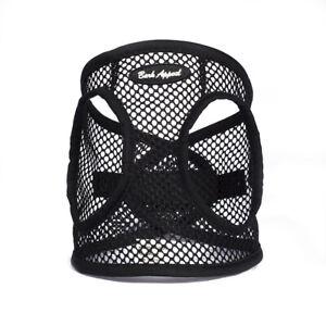 Bark-Appeal-EZ-Wrap-Netted-Dog-Step-In-Harness-Black-Sizes-XXS-XL
