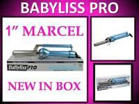 Babyliss Pro Nano Titanium 450° Turbo Boost 1 Marcel Spring Curling Iron