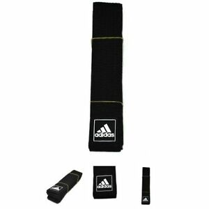 Adidas ONCE BLACK BELT 210 TAEKWONDO HAPKIDO KENDO KARATE JUDO Tae Kwon Do DAN