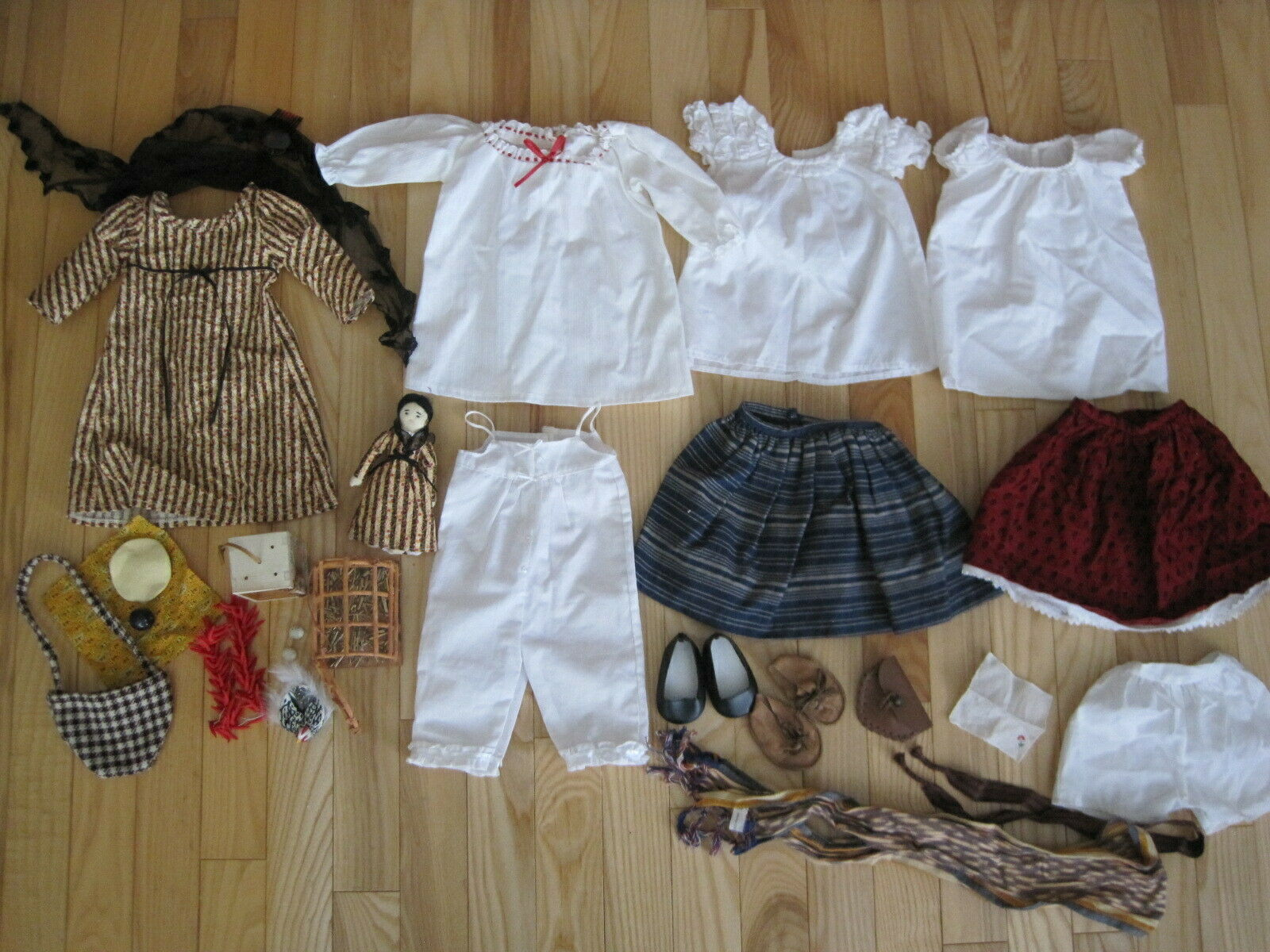 AMERICAN GIRL DOLL JOSEPHINA CLOTHES & ACCESSORIES LOT