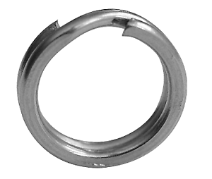 BLACK-CAT-Wirbel-Karabiner-Xtreme-Split-Ring-12mm-90kg-10-Stck