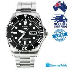 SEIKO 5 Sports Automatic Diving SNZF17 Sea Urchin JAPAN Black Dial Mens Watch