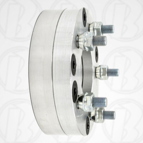 "4x100 to 5x120Wheel Adapters Spacers 1.75/""BMW Mini Mazda HondaUSA x2"