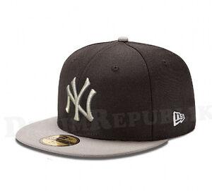 161dc5f292fb5 New Era 5950 NEW YORK YANKEES MLB Baseball Cap Black New Era Fitted ...