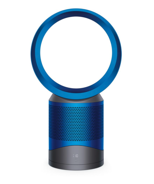 Dyson Pure Cool Link Air Purifier, Blue, Tilts, Tabletop, covers 800sf w/ Remote