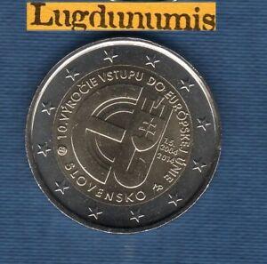 2 Euro Commémo - Slovaquie 2014 République Slovaque dans L'Union